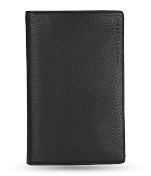 Бумажник Porsche Design Wallet, кожа, черный, отделение для паспорта  4090000451