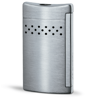 Зажигалка S.T. Dupont Maxijet, стальная, матовая, отделка: хром  20156N
