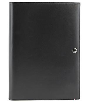 Папка с блокнотом S.T. Dupont Elysee, кожа, черный  181017