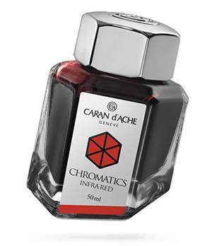 Чернила Caran d'Ache Caran d`Ache Chromatics, Infra Red, флакон 50мл, к  8011-070