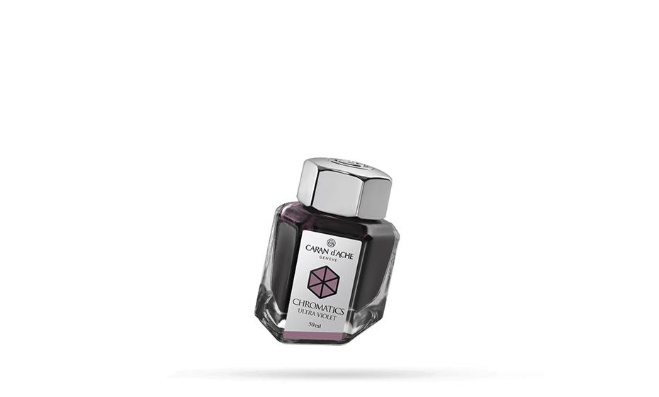 Чернила Caran d'Ache Caran d`Ache Chromatics, Ultra Violet, флакон 50мл  8011-099