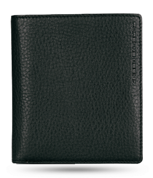 Портмоне Porsche Design Billfold, кожа, черный  4090000448