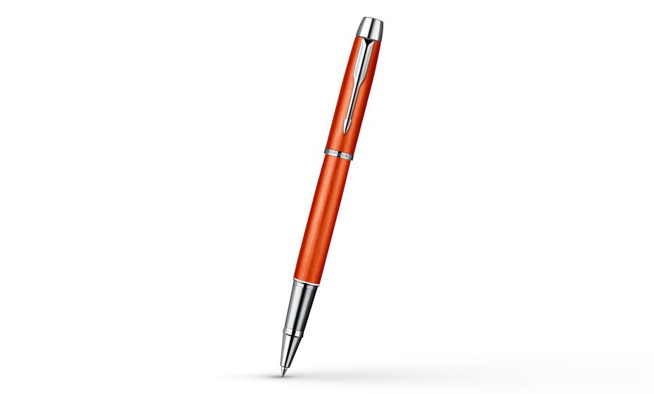 Чернильная ручка Parker IM Premium Big Red красно-оранжевая, ювелирная ла  1892644