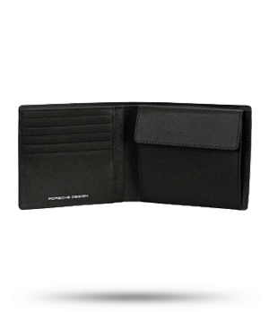 Портмоне Porsche Design Billfold, кожа, синее  4090001535