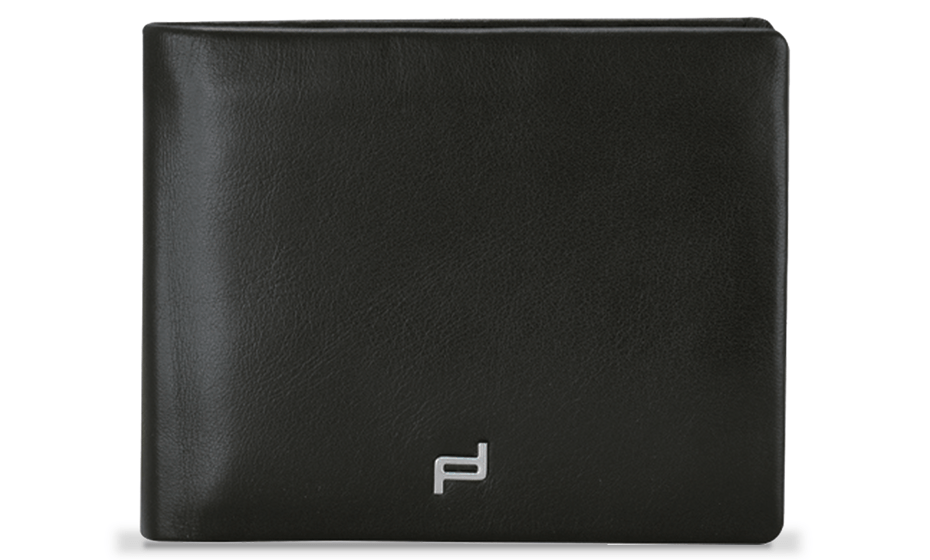 Портмоне Porsche Design Billfold, кожа, черное  4090001718