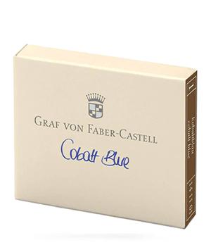 Картриджи Graf von Faber-Castell Graf von Faber-Castell, с чернилами, голубой, 6 шт  141101